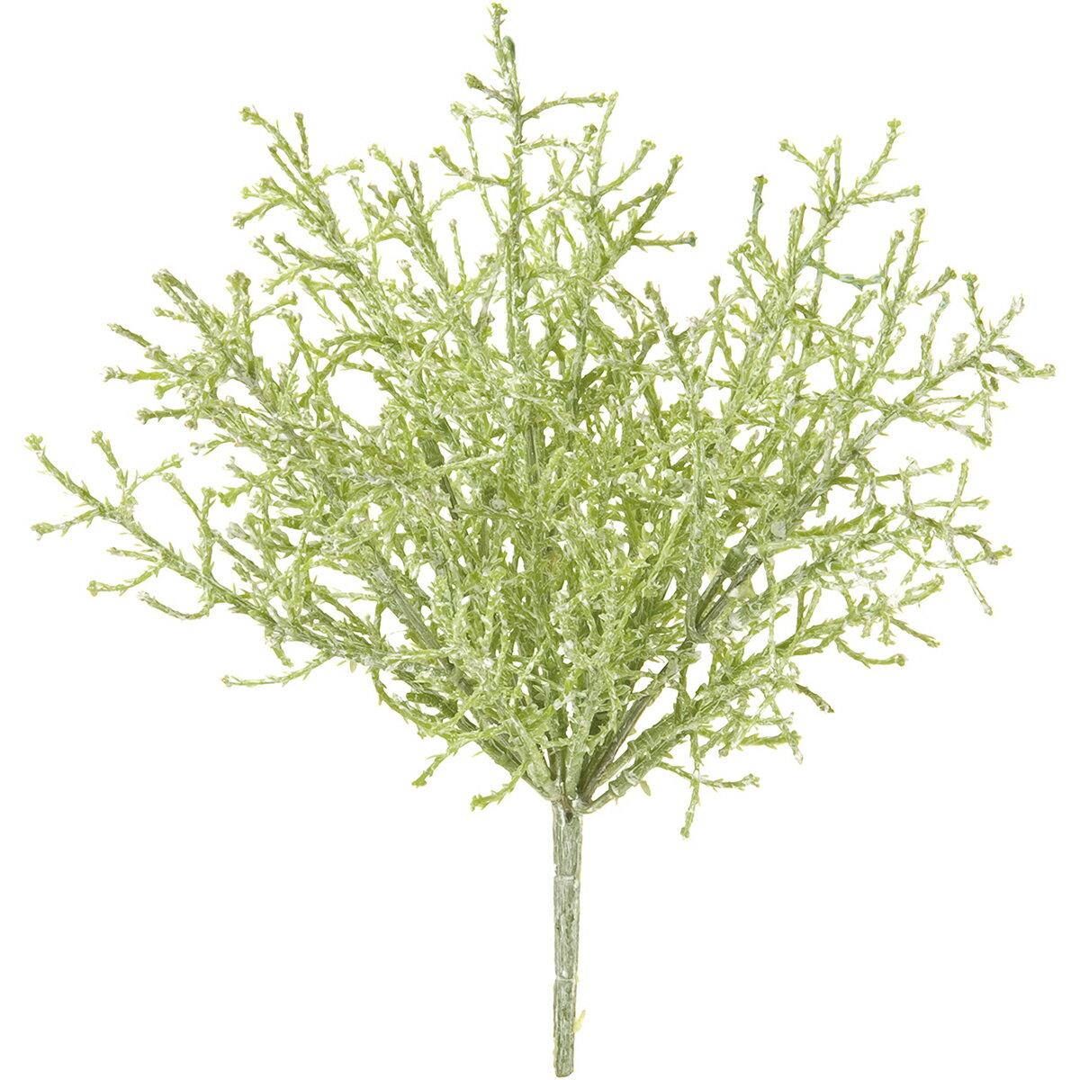 【造花】MAGIQ(東京堂)/ホワイトウォッシュサントリナブッシュ#23ライトグリーン/FX002250-023【01】【取寄】《 造花(アーティフィシャルフラワー) 造花葉物、フェイクグリーン その他の造花葉物・フェイクグリーン 》