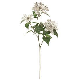 【造花】MAGIQ(東京堂)/アルジャンスプレーポインセチア シルバー/FX003610【01】【取寄】《 造花(アーティフィシャルフラワー) 造花 花材「は行」 ポインセチア 》