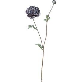 【造花】YDM/ブラッシュラナンキュラススプレー ダークブルー/FS-6973-DBL【01】【01】【取寄】《 造花(アーティフィシャルフラワー) 造花 花材「ら行」 ラナンキュラス 》