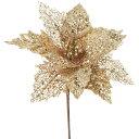 【造花】YDM/グリッターポインセチアピック GO/CSV-129【01】【取寄】《 造花(アーティフィシャルフラワー) 造花 花…