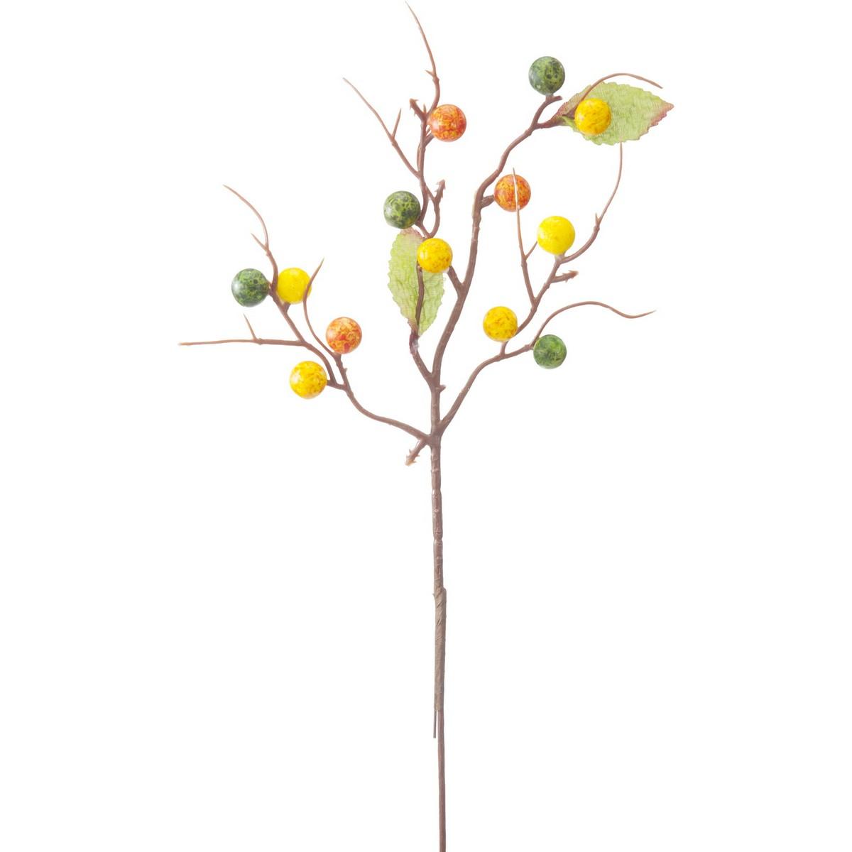 【造花】YDM/ベリースプレー オレンジ/FS-9006-OR【01】【01】【取寄】《 造花(アーティフィシャルフラワー) 造花実物、フェイクフルーツ ベリー 》