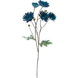 【造花】YDM/インディゴテイジースプレー ブルー/FA-7125-BLU【01】【01】【取寄】《 造花(アーティフィシャルフラワー) 造花 花材「た行」 デージー 》