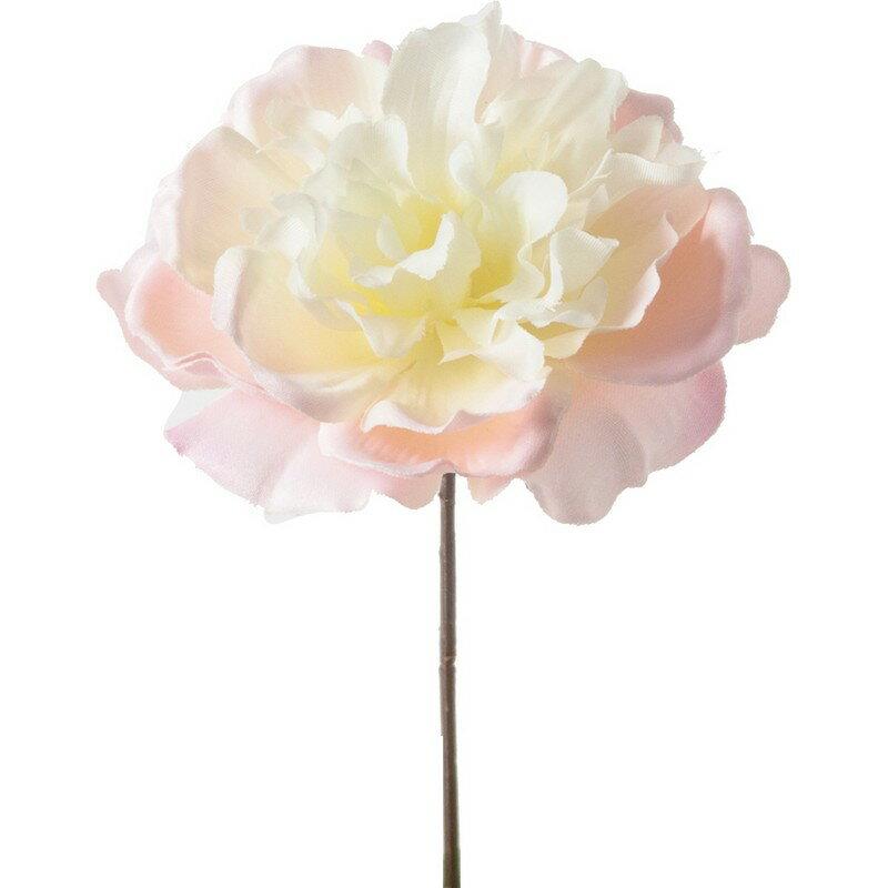【造花】YDM/重ねボタンピック ピンクホワイト/FA-7122-P/W|芍薬・牡丹《 造花(アーティフィシャルフラワー) 造花 花材「さ行」 シャクヤク(芍薬)・ボタン(牡丹)・ピオニー 》