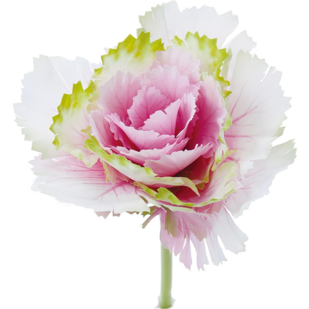 【造花】YDM/ハボタンピックM ピンク/FS-5252-P【01】【01】【取寄】《 造花(アーティフィシャルフラワー) 造花 花材「は行」 ハボタン(葉牡丹) 》