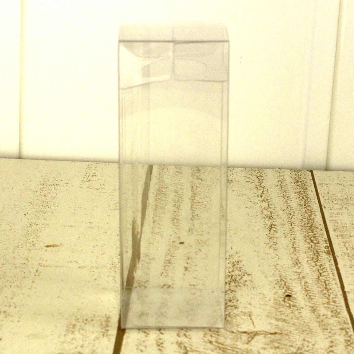 即日★クリアケース ハーバリウム100ml用(角瓶・丸瓶兼用)(はなどんやオリジナル)【00】[10枚]《花資材・道具 ハーバリウム材料 ハーバリウム オイル》