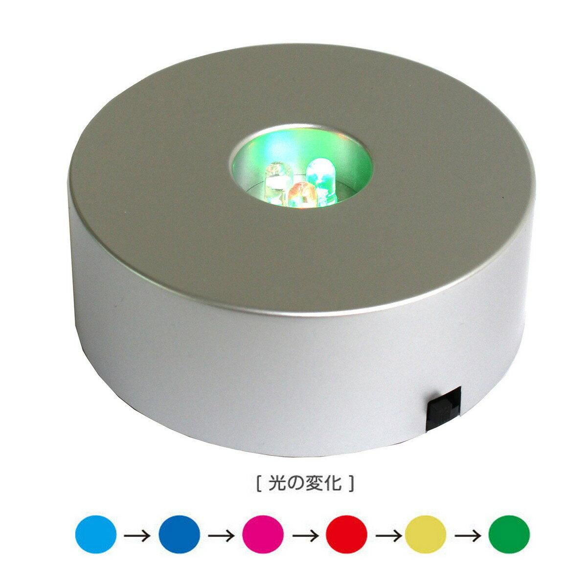 即日★パジコ/LEDライト 3灯丸型《ハーバリウム》/PDC101616【00】《花資材・道具 ハーバリウム材料 ハーバリウム オイル》