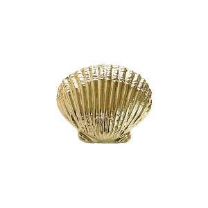 NBK/モチーフボタン 貝殻 小 ゴールド 2.1cm/KE2004G【07】【取寄】 手芸用品 ソーイング資材 ボタン 手作り 材料