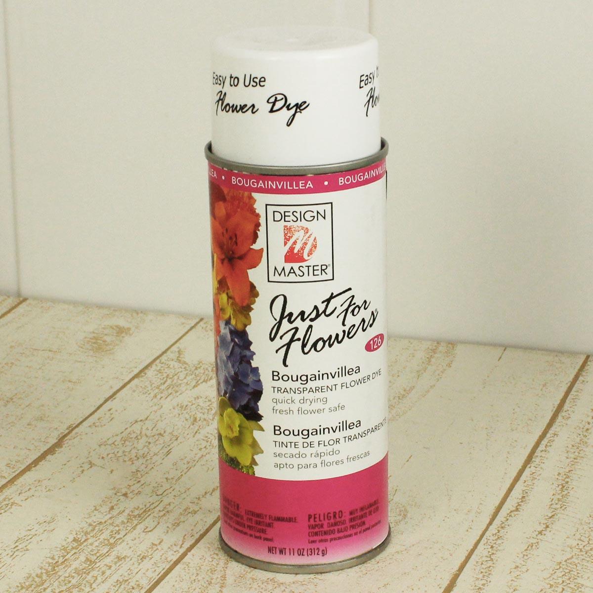 即日 オアシス/Just for flowers(カラースプレー) ブーゲンビリア 400ml/126《 花資材・道具 グリッター、カラースプレー 》