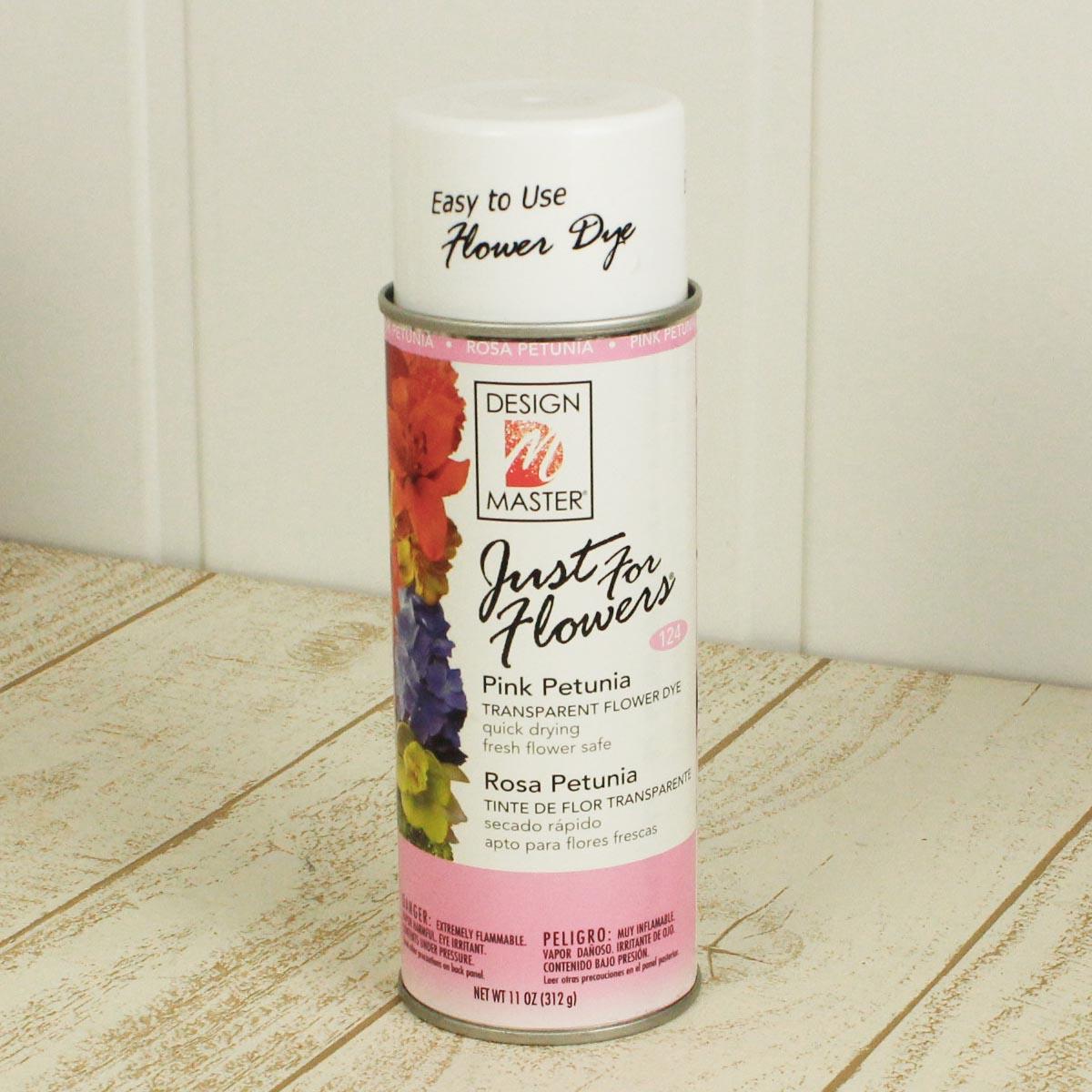 オアシス/Just for flowers(カラースプレー) ペチュニアピンク 400ml/124【01】【取寄】《 花資材・道具 グリッター、カラースプレー 》