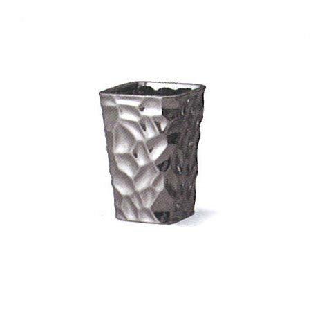 即日★クレイ/SOLID 4 BLACK METALLIC/170-467-803《 花器、リース 花器・花瓶 陶器花器 》