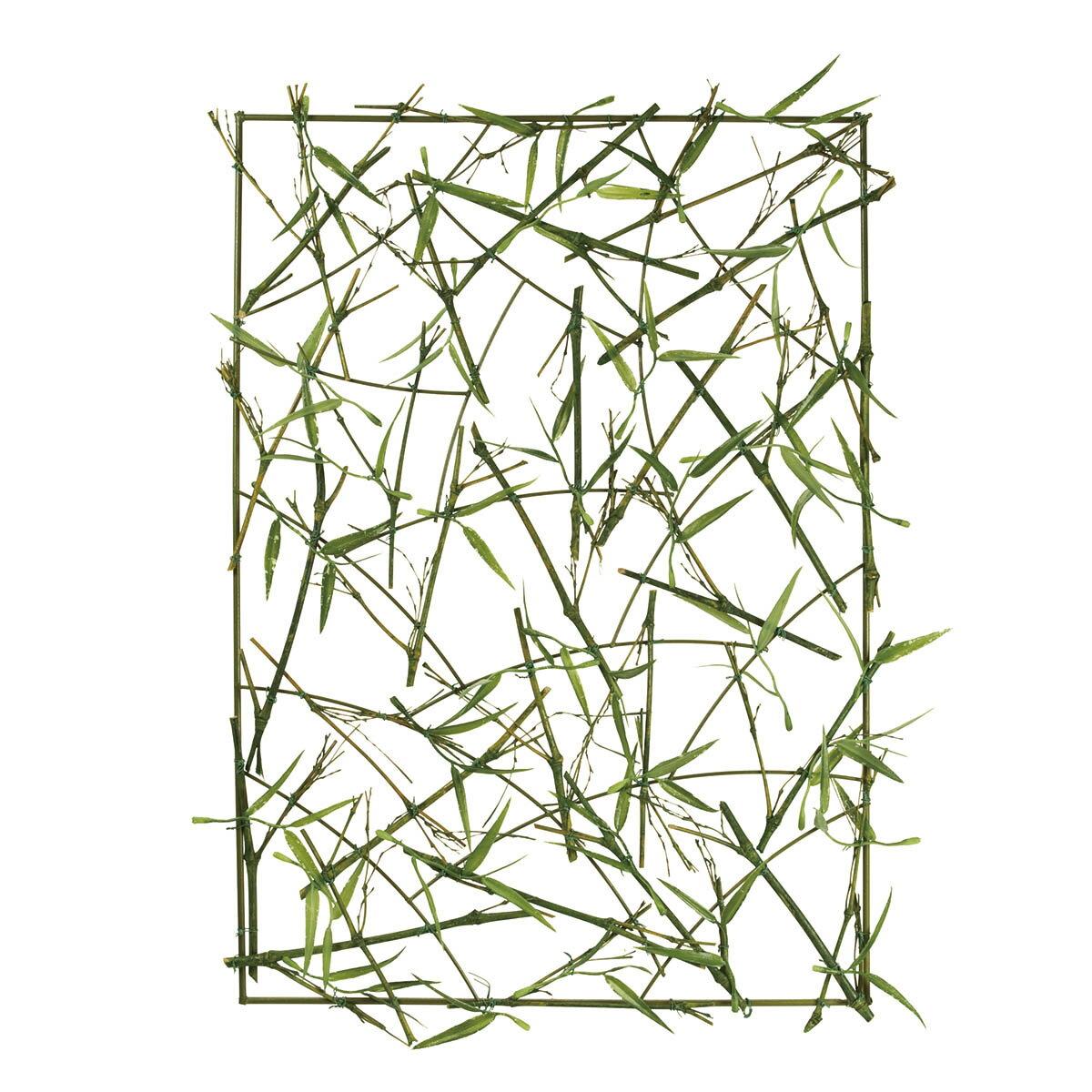 【造花】MAGIQ(東京堂)/バンブーフェンス グリーン/FG001689【01】【01】【取寄】《 造花(アーティフィシャルフラワー) 造花枝物 松、竹 》