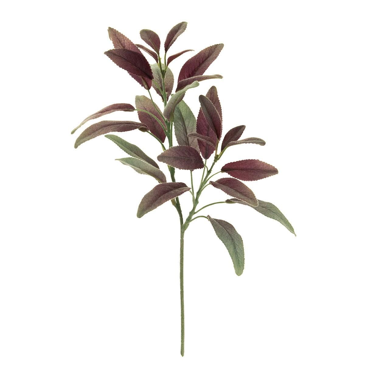 【造花】MAGIQ(東京堂)/サルビアヴィオレ パープルグリーン/FG009663【01】【取寄】《 造花(アーティフィシャルフラワー) 造花葉物、フェイクグリーン その他の造花葉物・フェイクグリーン 》