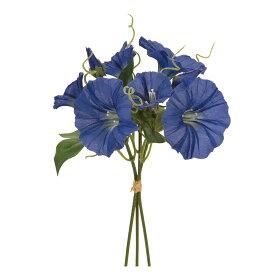 【造花】MAGIQ(東京堂)/涼風あさがおピック #5 ブルー 3本/FM002618-005【01】【取寄】《 造花(アーティフィシャルフラワー) 造花 花材「あ行」 アサガオ(朝顔) 》