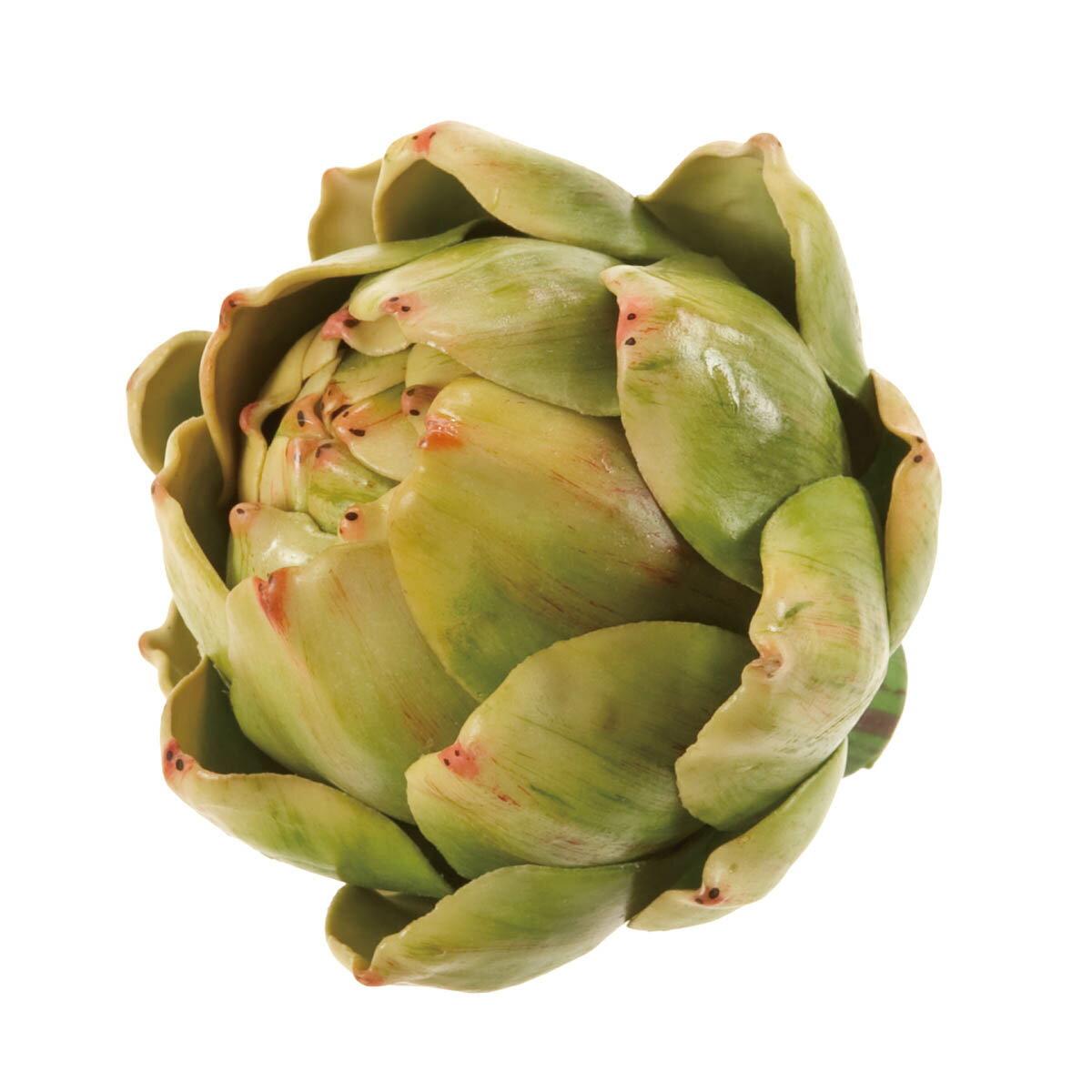 【造花】デコラアーティチョーク M グリーン/FV003188【01】【取寄】《 造花(アーティフィシャルフラワー) 造花実物、フェイクフルーツ フルーツ、ベジタブル 》