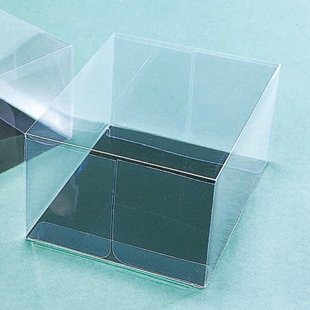 折り曲げコサージケース B 10個/UK000125【01】【取寄】《 ラッピング用品 ・梱包資材 ラッピング箱・梱包箱 クリアケース(ボックス) 》