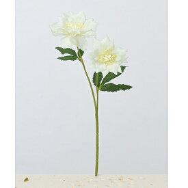 【造花】アスカ/クリスマスローズ×2 #059S シーフォームグリーン/A-33212-59【01】【01】【取寄】《 造花(アーティフィシャルフラワー) 造花 花材「か行」 クリスマスローズ 》