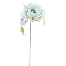 【造花】アスカ/ピオニー #009 ブルー/A-33266-9【01】【01】【取寄】《 造花(アーティフィシャルフラワー) 造花 花材「さ行」 シャクヤク(芍薬)・ボタン(牡丹)・ピオニー 》