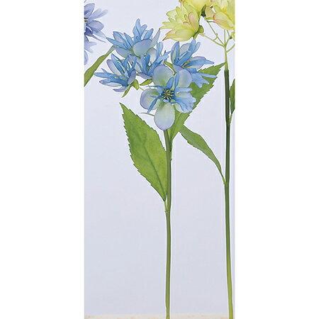 【造花】アスカ/ミニフラワーピック×5 NO.009H ブルーヘリオ/A-33320-109【01】【取寄】《 造花(アーティフィシャルフラワー) 造花 花材「ま行」 その他「ま行」造花花材 》
