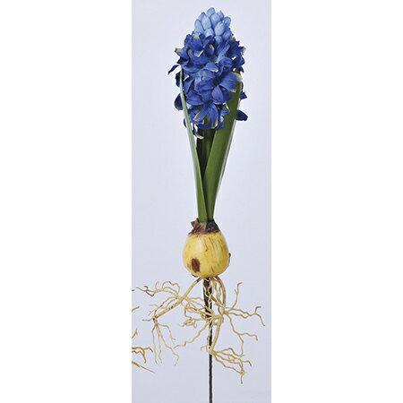 【造花】アスカ/ヒヤシンス NO.009 ブルー/A-33433-9【01】【取寄】《 造花(アーティフィシャルフラワー) 造花 花材「は行」 ヒヤシンス 》