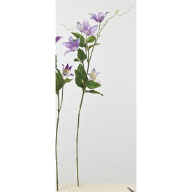 【造花】アスカ/クレマチス×5 つぼみ×3 #016 ライトラベンダー/A-33254-16【01】【01】【取寄】《 造花(アーティフィシャルフラワー) 造花 花材「か行」 クレマチス 》