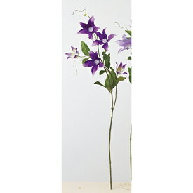 【造花】アスカ/クレマチス×5 つぼみ×3 #007 パープル/A-33254-7【01】【01】【取寄】《 造花(アーティフィシャルフラワー) 造花 花材「か行」 クレマチス 》