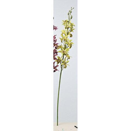 【造花】アスカ/シンビジューム×17 つぼみ×8 #053B ライトイエローグリーン/A-33334-53【01】【01】【取寄】《 造花(アーティフィシャルフラワー) 造花 花材「さ行」 シンビジューム 》