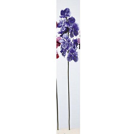 【造花】アスカ/バンダオーキッド×11 #009P ブルーパープル/A-33324-9【01】【01】【取寄】《 造花(アーティフィシャルフラワー) 造花 花材「ら行」 ラン(蘭)・オーキッド 》