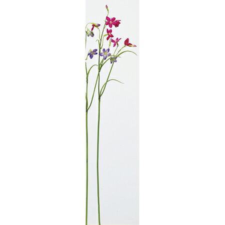 【造花】アスカ/カンパニュラ×6 つぼみ×2 NO.026 フッシャ/A-33276-26【01】【取寄】《造花(アーティフィシャルフラワー) 造花 「か行」 カンパニュラ》