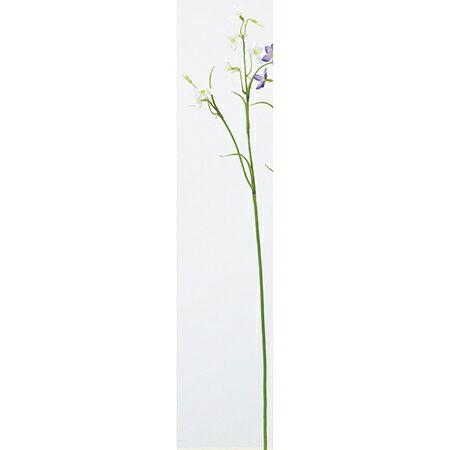 【造花】アスカ/カンパニュラ×6 つぼみ×2 NO.001 ホワイト/A-33276-1【01】【取寄】《造花(アーティフィシャルフラワー) 造花 「か行」 カンパニュラ》