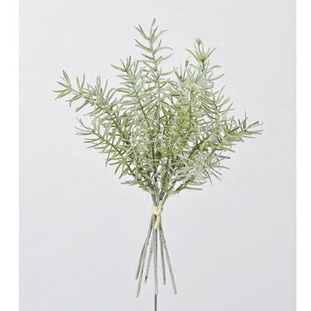 【造花】アスカ/ローズマリーバンチ(1束6本) #051F フロストグリーン/A-42948-51【01】【01】【取寄】《 造花(アーティフィシャルフラワー) 造花葉物、フェイクグリーン ハーブ 》