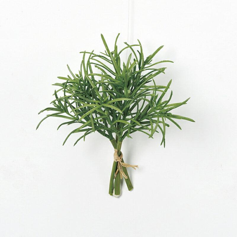 【造花】アスカ/ローズマリーバンチ(1束3本) NO.051A グリーン/A-42891-51【01】【取寄】《 造花(アーティフィシャルフラワー) 造花葉物、フェイクグリーン ハーブ 》