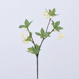 【造花】アスカ/ドウダンピック×14 #001 ホワイト/A-47774-1【01】【01】【取寄】《 造花(アーティフィシャルフラワー) 造花枝物 ドウダンツツジ 》