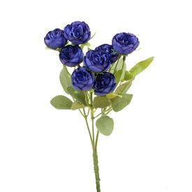 【造花】パレ/ラナンキュラスブッシュ ブルー/P-8244-70【01】【取寄】《 造花(アーティフィシャルフラワー) 造花 花材「ら行」 ラナンキュラス 》