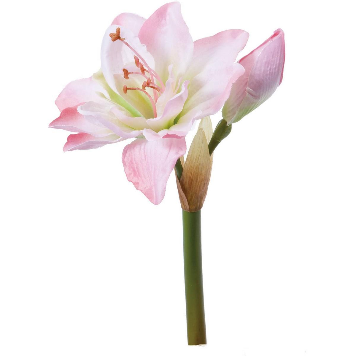【造花】YDM/アマリリスピック ピンク/FA-6697-P【01】【取寄】《 造花(アーティフィシャルフラワー) 造花 花材「あ行」 アマリリス 》