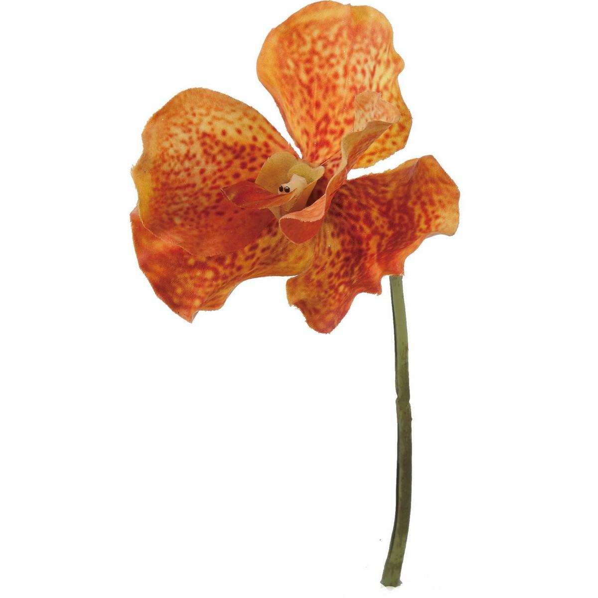 【造花】YDM/バンダオーキッドピック オレンジ/FA-6989-OR【01】【01】【取寄】《 造花(アーティフィシャルフラワー) 造花 花材「ら行」 ラン(蘭)・オーキッド 》