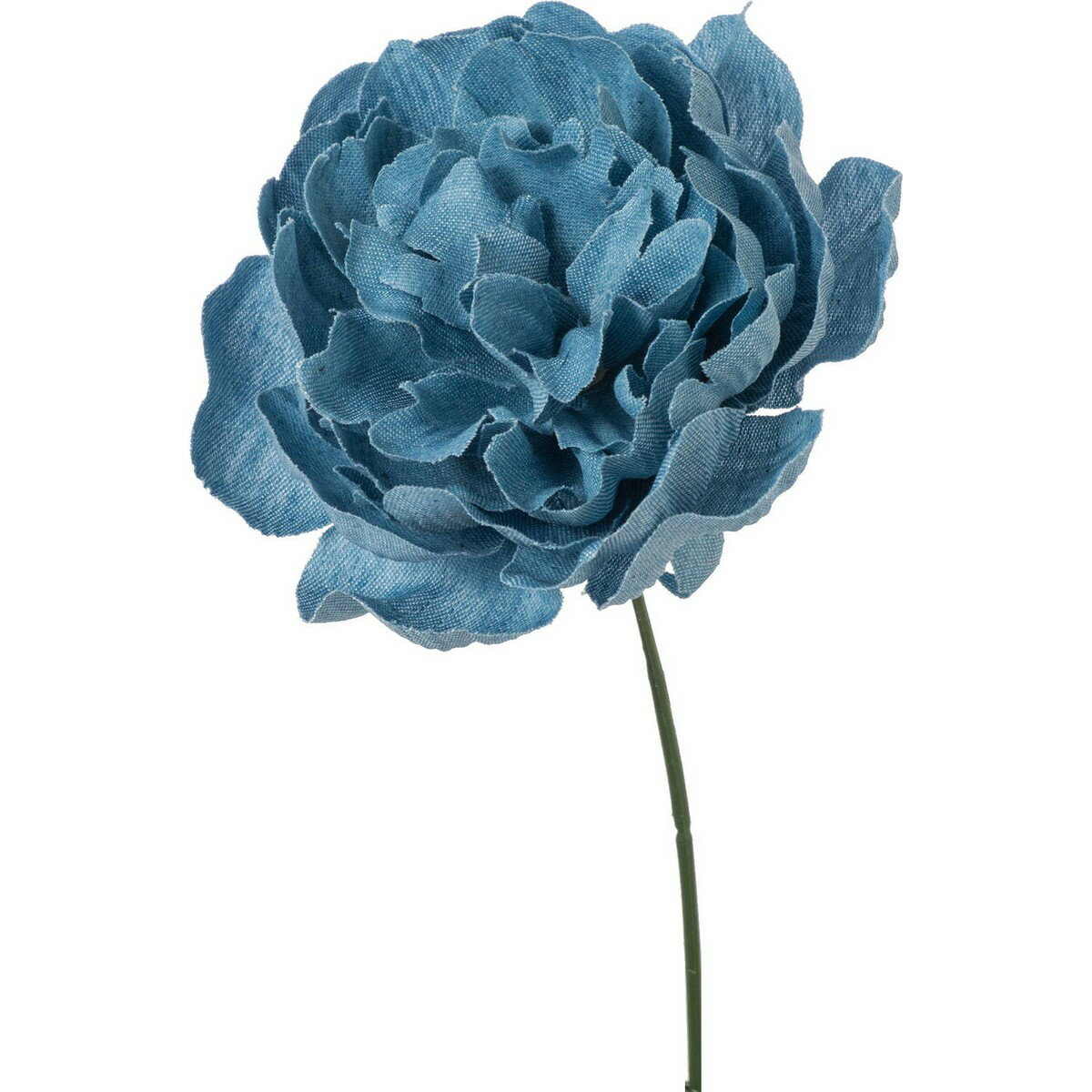 即日 【造花】YDM/デニムピオニーピック ライトブルー/FA-7182-LBL《 造花(アーティフィシャルフラワー) 造花 花材「さ行」 シャクヤク(芍薬)・ボタン(牡丹)・ピオニー 》