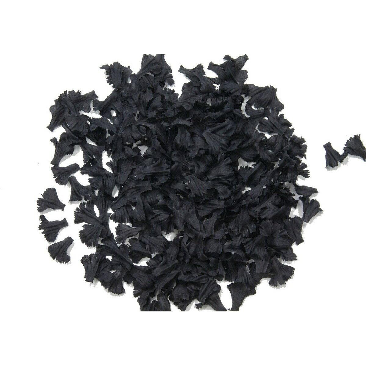 【造花】YDM/カーネーションペタルパック ブラック 約500枚入/FA-7178-BLK【01】【01】【取寄】《 造花(アーティフィシャルフラワー) 造花 花材「か行」 カーネーション 》