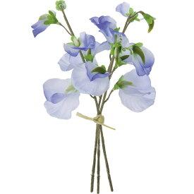 【造花】YDM/スイートピーバンチ ブルー/FS-7796-BLU【01】【01】【取寄】《 造花(アーティフィシャルフラワー) 造花 花材「さ行」 スイトピー 》