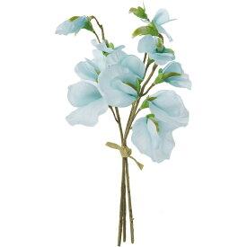 即日 【造花】YDM/スイートピーバンチ ライトブルー/FS-7796-LBL《 造花(アーティフィシャルフラワー) 造花 花材「さ行」 スイトピー 》