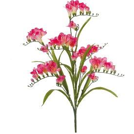 【造花】YDM/フリージアブッシュ ビューティー/FS-MB003-BTY【01】【01】【取寄】《 造花(アーティフィシャルフラワー) 造花 花材「は行」 フリージア 》