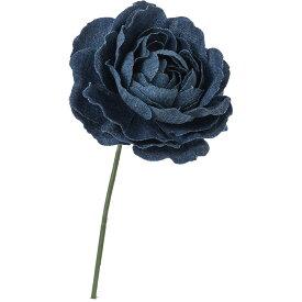 即日 【造花】YDM/デニムラナンキュラスピック ブルー/FA-7179-BLU《 造花(アーティフィシャルフラワー) 造花 花材「ら行」 ラナンキュラス 》