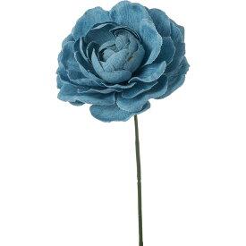 即日 【造花】YDM/デニムラナンキュラスピック ライトブルー/FA-7179-LBL《 造花(アーティフィシャルフラワー) 造花 花材「ら行」 ラナンキュラス 》