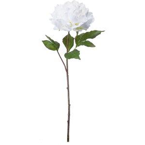 【造花】YDM/ブルーミングピオニー ホワイト/FA-7131-W【01】【取寄】 造花(アーティフィシャルフラワー) 造花 花材「さ行」 シャクヤク(芍薬)・ボタン(牡丹)・ピオニー