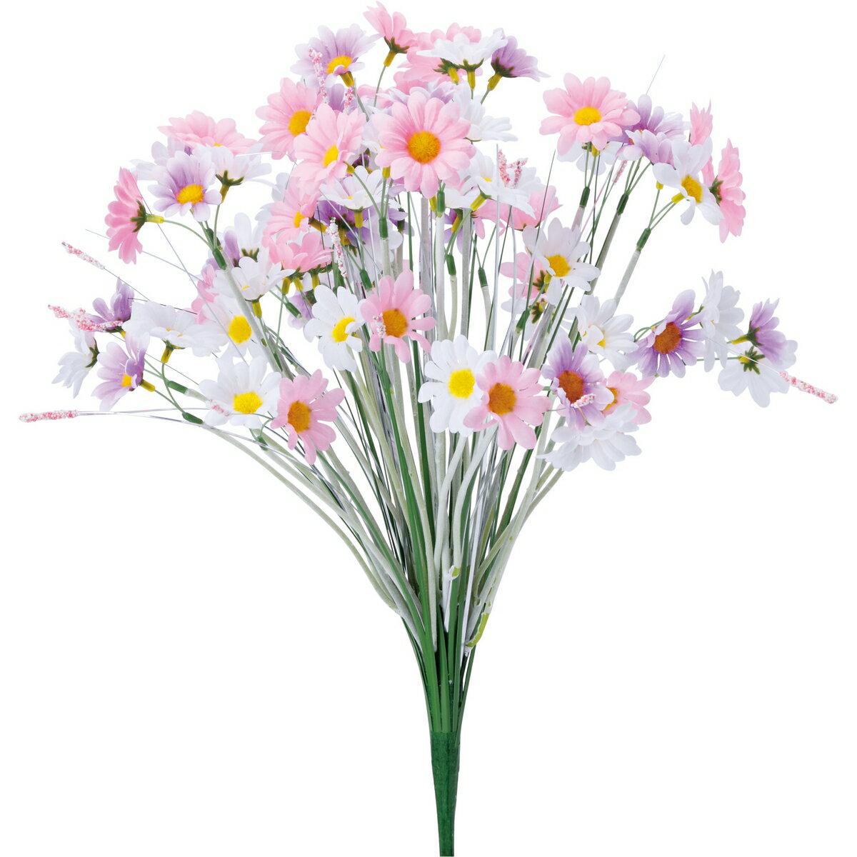 【造花】YDM/グラスマーガレットブッシュ ピンクラベンダー/FP -5027-P/L【01】【取寄】《 造花(アーティフィシャルフラワー) 造花ギフト 仏花 》
