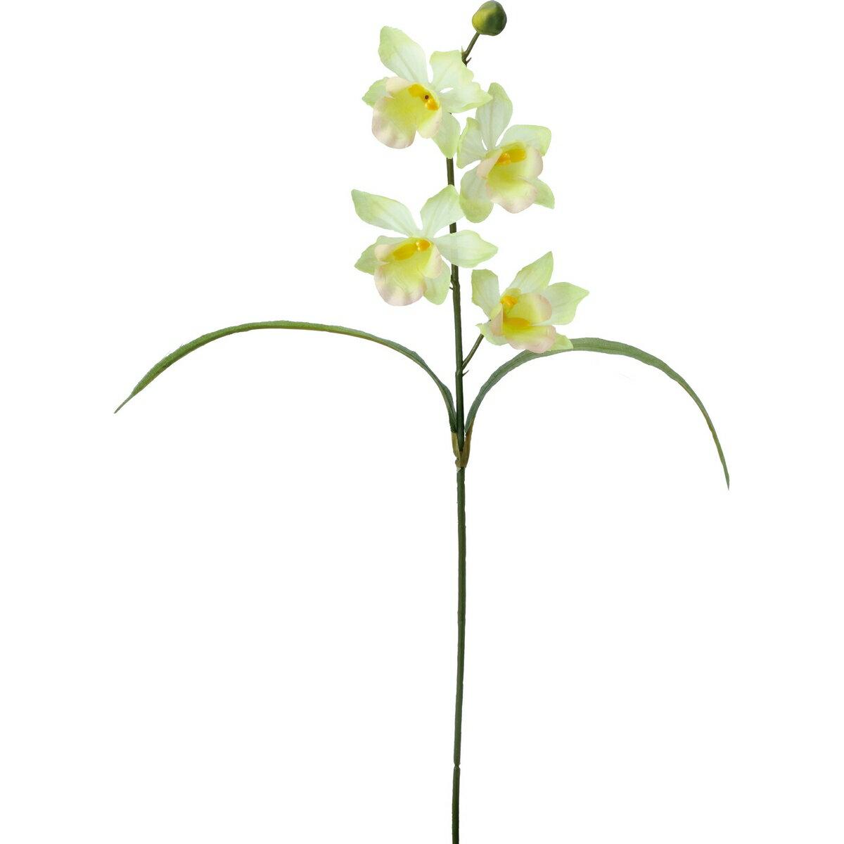 【造花】YDM/シンビジュームリーフツキ グリーン/FF -2914-GR【01】【01】【取寄】《 造花(アーティフィシャルフラワー) 造花 花材「さ行」 シンビジューム 》