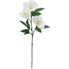 【造花】YDM/クリスマスローズ クリーム/FF -2906-CR【01】【01】【取寄】《 造花(アーティフィシャルフラワー) 造花 花材「か行」 クリスマスローズ 》