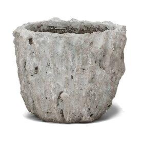 PTMD/Rocky grey cement round pot/666934【01】【取寄】[2個]