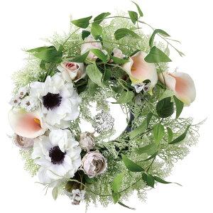【造花】YDM/フレンチアンティークリース/FBCW-0011【01】【取寄】 花器、リース リース完成品 造花