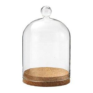 松野ホビー/コルクグラスドームM(ナチュラル)/FR-1256【01】【取寄】[6個]花器、リース 花器・花瓶 セロンドーム 手作り 材料