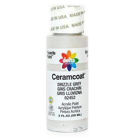 Delta Ceramcoat/セラムコート アクリルペイント絵具 59ml Drizzle Grey/2452【01】【取寄】《 手芸用品 クラフト ペインティング 》